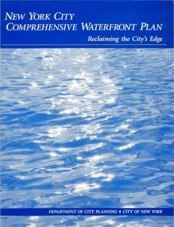New York City Comprehensive Waterfront Plan - NYC.gov