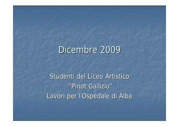 Guarda la presentazione in pdf - Liceo Artistico