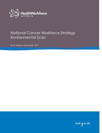 Environmental Scan - Health Workforce Australia