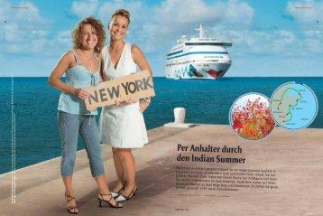 Per Anhalter durch den Indian Summer - Aida