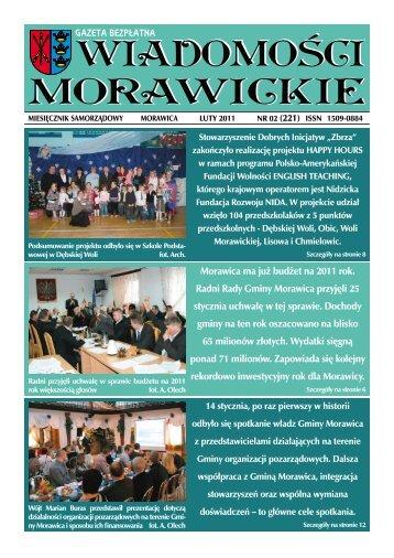 Morawica ma już budżet na 2011 rok. Radni Rady Gminy Morawica ...