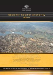 JSC Submission Final - the National Capital Authority