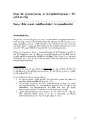Rapport - Socialdemokraterna