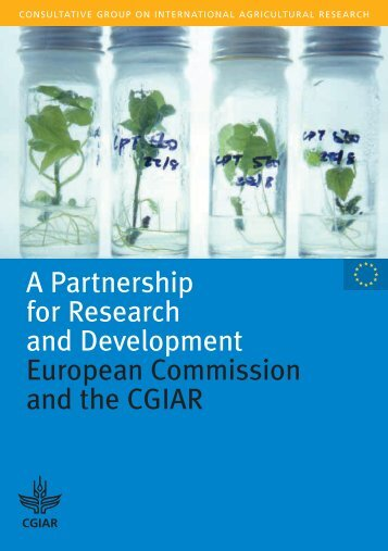 A Partnership for Research and Development ... - CGIAR Library