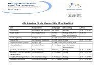 AG- Angebote für die Klassen 5 bis 10 im Überblick - Philipp-Reis ...