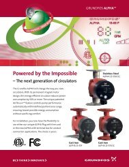 Powered by the Impossible - Grundfos