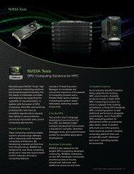 Tesla GPU - Nvidia