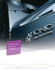 3Q Series 300 Molecular Analyzers - Ionics Mass Spectrometry ...