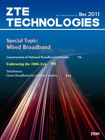 Wired Broadband - ZTE