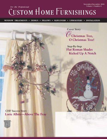 nov dec issue FINAL.indd - Custom Home Furnishings Academy