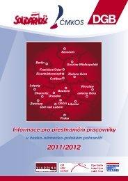 Informace pro přeshraniční pracovníky - Ministerstvo práce a ...