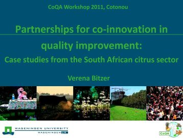 Innovations - CoQA