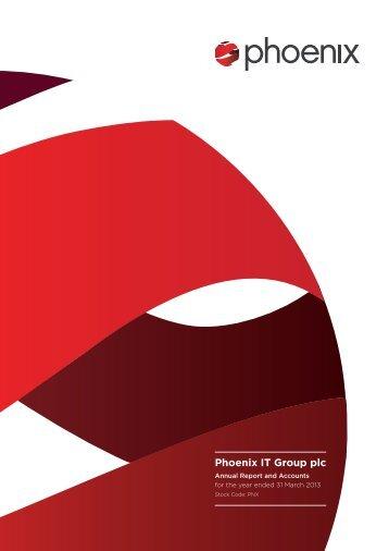 Annual report 2013 (PDF) - Phoenix