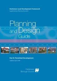 Part B: Permitted Development - Hertsmere Borough Council