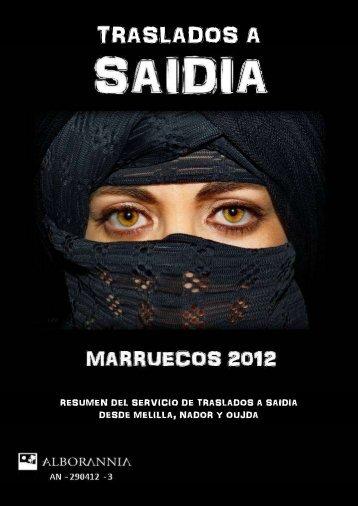 VIAJES Y VACACIONES SAIDIA 2012 - 4x4Facil