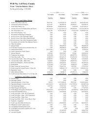 Form 7 Balance Sheet - Ferry County Public Utility District 1