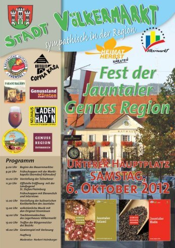 Flyer Genussregion 2012.qxp
