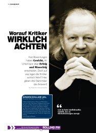 WIRKLICH ACHTEN - ROLLINGPIN