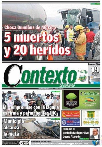 19/07/2013 - Contexto de Durango