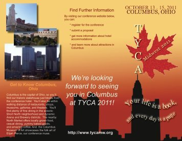 Conference Brochure - TYCA Midwest