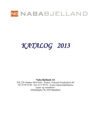 Hovedkatalogen 2013 - Naba Bjelland