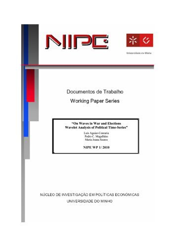 NIPE WP 1/ 2010 - Universidade do Minho