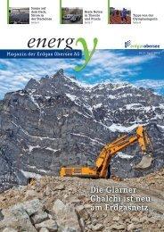 Kundenzeitschrift 2013-01 - Erdgas Obersee AG