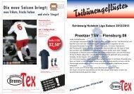 Flensburg 08 - Preetzer TSV Fussball