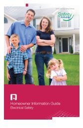 Homeowner Information Guide - BC Safety Authority