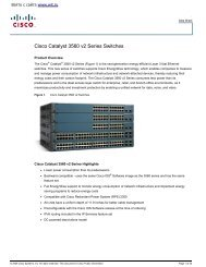 EOS/EOL for the Catalyst 1900 and 2820 Series Switches - Cisco