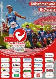 Teilnehmer-Info S-Distanz - Challenge Kraichgau