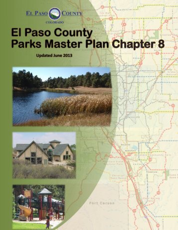 Chapter 8 (Includes Trails and Open Space Plans - El Paso County