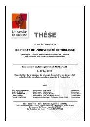 Modélisation du processus de pilotage d'un atelier - Les thèses en ...