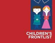 CHILDReN'S fRONTLIST - Raincoast Books