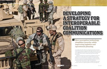Developing a Strategy for interoperable Coalition CommuniCationS