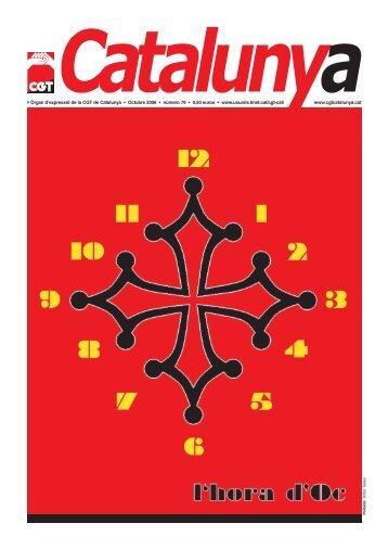Q Òrgan d'expressió de la CGT de Catalunya ... - Rojo y Negro