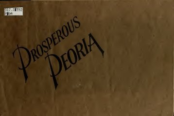 Prosperous Peoria - Peoria County Illinois Genealogy and History