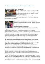 Roland zu Bremen Oberschule - Ganztägig Lernen - Bremen