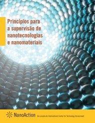 Princípios para a supervisão de nanotecnologias e ... - Rel-UITA