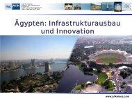Aegypten-Infrastrukturausbau und Innovation