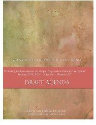 draft agenda - AII - American Indian Institute - University of Oklahoma