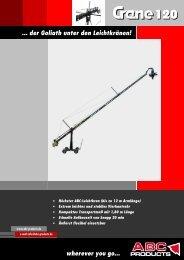 ABC Crane 120 Folder deutsch v7.06 - ABC Products