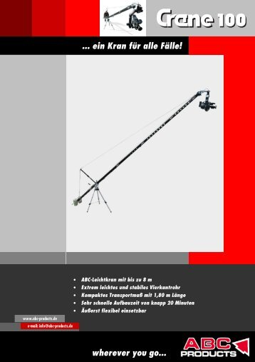 ABC Crane 100 deutsch v4.06 - ABC Products