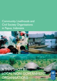 Community Livelihoods And Civil Society Organisations In - UNDP