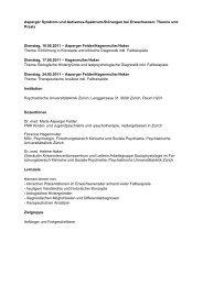 Asperger Syndrom und Autismus-Spektrum-Störungen bei Erwachsenen ...