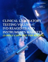 clinical laboratory testing volume 1 - TriMarkPublications.com