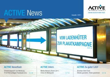 ACTIVE News - Active International GmbH