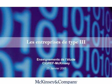 études CIGREF-McKinsey