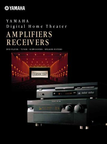 YAMAHA Digital Home Theater – AMPLIFIERS ... - Acoustic Psychos