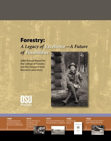 College of Forestry - Oregon State University